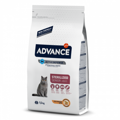 Advance Sterilized senior +10m 1.5kg