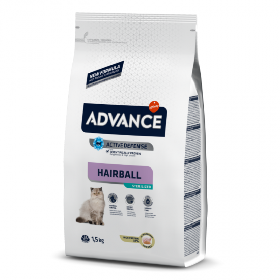 Advance Sterilized (Hairball) 1.5kg
