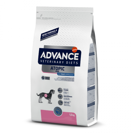 Advance Atopic Mini (upėtakis, bulvės) 1.5kg
