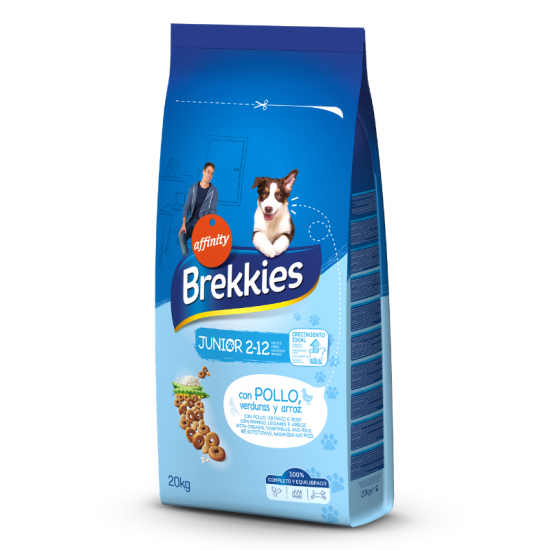 Brekkies Junior Original Dog